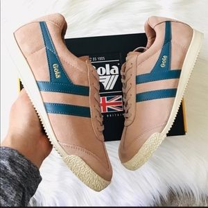 NIB GOLA Suede Lace-up Sneakers